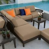 woven lounge sofa
