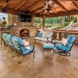 modern outdoor cushion chairs
