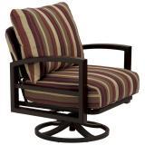 patio cushion swivel action lounge chair