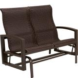 woven outdoor double glider